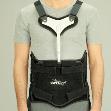 DeRoyal UEP2031 Ultralign + Thoracic Lumbar Sacral Orthosis, Accessories, 3  ½ Extension Panels - 1 Each