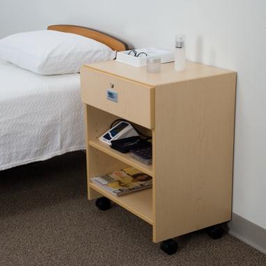 Swell Mobile Locking Bedside Cabinet Interior Design Ideas Gentotthenellocom