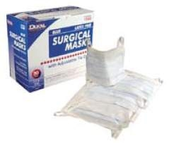 Mask Earloops Surgical Pleated Dukal