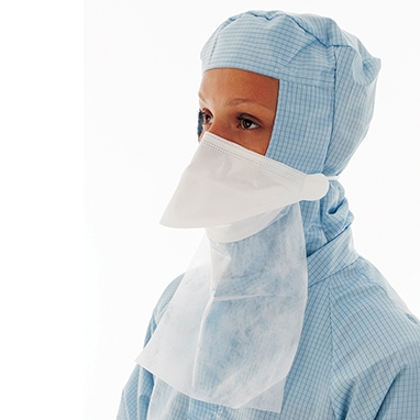 Hcl Sterile Masks W Neck Guard Non 19653 Face Pouch-style