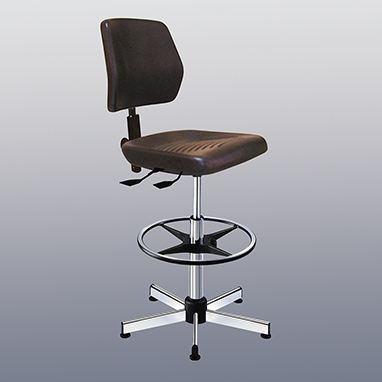 Health Care Logistics 8421 & Health Care Logistics 8421 Kango High Polyurethane Seat Chair With ...