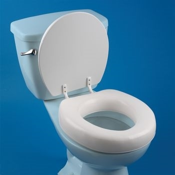 soft touch toilet seat. Patterson Medical 567057 Seat Has 2 1  Of Padding For Increased Comfort While Sitting