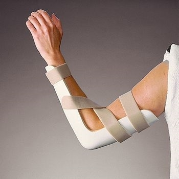 Rolyan Pre Formed Posterior Elbow Splint Traditional Version
